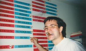 Cruz in college