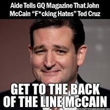 mccain hates ted