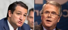 Ted and Jeb